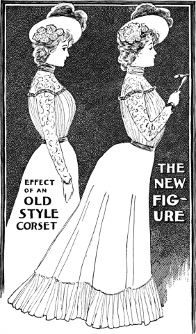 20世紀 シルエット 広告