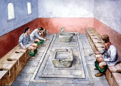 ローマ 下水道